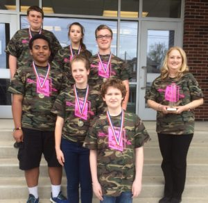Lafayette Wins 1st Place in 15th Annual Reading Competition